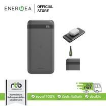 Energea Power Bank Enerpac รุ่น Omin Wireless+MFI Input พาวเวอร์แบงค์ความจุ 10,000 MAH - Black
