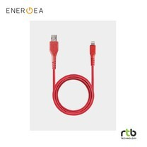 Energea FibraTough Cable, Charge and Sync Tough Lightning MFI 1.5m - Red