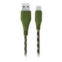 สายชาร์จ Energea NyloXtreme Combat MFI Lightning Cable ยาว 1.5m - Green