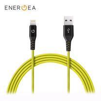 สายชาร์จ Energea Alutough MFI Lightning Cable ยาว 1.5m - Yellow
