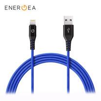 สายชาร์จ Energea Alutough MFI Lightning Cable ยาว 1.5m - Blue