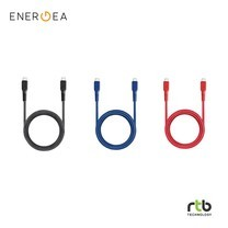 Energea สายชาร์จ Cable FibraTough 3.1Gen1 USB-C to USB-C 1.5M
