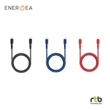 Energea สายชาร์จ Cable FibraTough USB-C To Lightning MFi 1.5M (สินค้ารับประกัน 3 ปี)