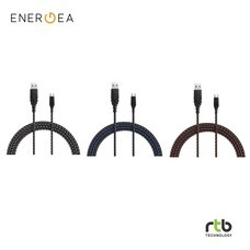 Energea สายชาร์จ Cable DuraGlitz USB-A To Micro USB 1.5M (Android)