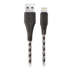 สายชาร์จ Energea NyloXtreme Combat MFI Lightning Cable ยาว 1.5m - Black