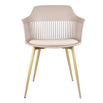 Furintrend เก้าอี้อาร์มแชร์ รุ่น TALE 2 - Brown