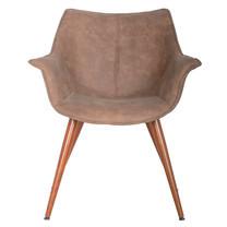 Furintrend เก้าอี้อาร์มแชร์ เฟอร์อินเทรน Armchair รุ่น SEN1 Brown