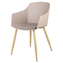 Furintrend เก้าอี้อาร์มแชร์ รุ่น TALE 1 - Brown