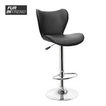 Furintrend เก้าอี้บาร์สตูล รุ่น Premium Bar Stool ST04B - Black