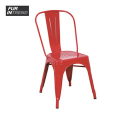 Furintrend เก้าอี้เหล็ก รุ่น U-Shape - Red