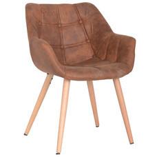 Furintrend เก้าอี้อาร์มแชร์ เฟอร์อินเทรน Armchair รุ่น SEN4 - Brown
