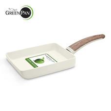 GreenPan กระทะไข่เหลี่ยม Rectangular Egg Pan รุ่น Wood-Be ขนาด 14x18 ซม. CC000834-001