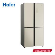Haier ตู้เย็น 4 ประตู ขนาด 16.1Q รุ่น MD456GG (Gold)