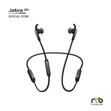 Jabra Elite 45e Enabled Wireless Bluetooth In-Ear Headphones - Black