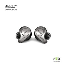 Jabra หูฟังบลูทูธ รุ่น Elite 65T True Wireless Earbud Headphones -Titanium Black
