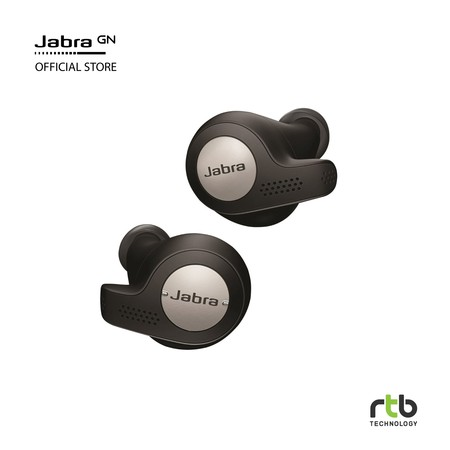 Jabra Elite Active 65t True Wireless Bluetooth Earbuds - Titanium Black