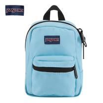 JanSport กระเป๋าเป้ขนาดจิ๋ว รุ่น JS0A32TT0DC Lil Break - Blue Topaz