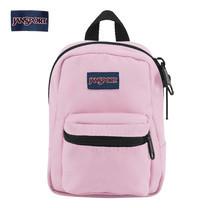 JanSport กระเป๋าเป้ขนาดจิ๋ว รุ่น JS0A32TT3B7 Lil Break - Pink Mist