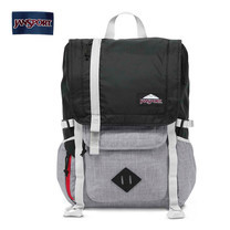 กระเป๋าเป้ JanSport รุ่น JS-A2T350NU HATCHET DL - Black Poly Ripstop Grey Marl