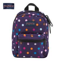 JanSport กระเป๋าเป้ขนาดเล็ก รุ่น Lil Break - PRPL Spot-O-Rama