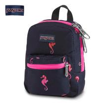 JanSport กระเป๋าเป้ขนาดเล็ก รุ่น Lil Break - Sea Horse