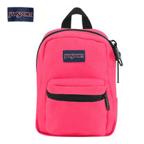 JanSport กระเป๋าเป้ขนาดเล็ก รุ่น Lil Break - Neon Pink