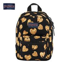 JanSport กระเป๋าเป้ขนาดเล็ก รุ่น Lil Break - Glitter Hearts