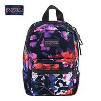 JanSport กระเป๋าเป้ขนาดเล็ก รุ่น Lil Break - Morning Bloom