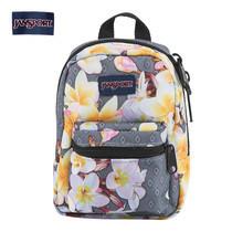 JanSport กระเป๋าเป้ขนาดเล็ก รุ่น Lil Break - Diamond Plumeria