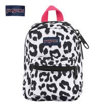 JanSport กระเป๋าเป้ขนาดเล็ก รุ่น Lil Break - White Leopard