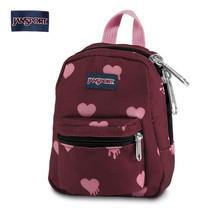 JanSport กระเป๋าเป้ขนาดเล็ก รุ่น Lil Break - Russet Red Bldnghrts