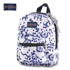 JanSport กระเป๋าเป้ขนาดเล็ก รุ่น JS0A32TT4Z9 Lil Break - White Field Floral