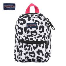 JanSport กระเป๋าเป้ขนาดเล็ก รุ่น JS0A32TT33J Lil Break - White Leopard