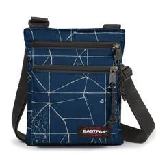 EASTPAK รุ่น RUSHER - Cracked Blue กระเป๋าสะพาย EK08966T