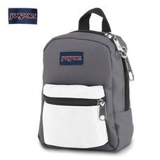 JanSport กระเป๋าเป้ขนาดเล็ก รุ่น JS0A32TT3J4 Lil Break - Shady Grey / White