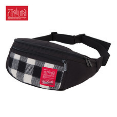 Manhattan Portage กระเป๋าคาดเอว รุ่น MP 1101-WLR WOOLRICH ALLEYCAT - White/Black