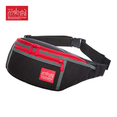 Manhattan Portage กระเป๋าคาดเอว 80's Alleycat Waist Bag รุ่น MP 1101-80S LIMITED EDITION - Black
