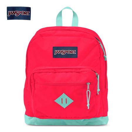 กระเป๋าเป้ JanSport รุ่น T29A1Q4 CITY SCOUT - Flourescent Red