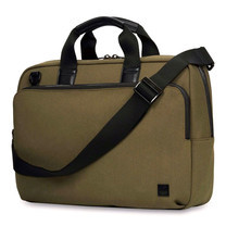 "กระเป๋าแล็ปท็อป KNOMO Slim Briefcase MAXWELL 15"" Laptop - Army (Green)"
