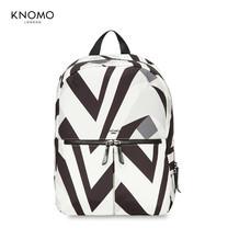 """กระเป๋าเป้แล็ปท็อป KNOMO Backpack BERLIN V&A Collection 14"""" Laptop : Monochrome (Black - White)"""