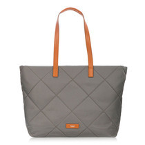 "กระเป๋าสะพาย KNOMO Large Zip Shoulder Tote Bag PORCHESTER 15"" laptop - (Gray)"