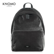 "กระเป๋าเป้แล็ปท็อป KNOMO Backpack BATHURST VELVET 14"" Laptop - Char Velvet (Black)"