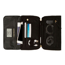 กระเป๋าถือ KNOMO ELEKTRONISTA MINI Smartphone Clutch Bag - Black
