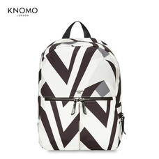 "กระเป๋าเป้แล็ปท็อป KNOMO Backpack BERLIN V&A Collection 14"" Laptop : Monochrome (Black - White)"