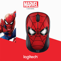 LOGITECH WIRELESS MOUSE M238 MARVEL COLLECTION (SPIDER MAN)