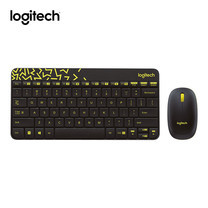 Logitech MK240 Nano Wireless Keyboard&Mouse Combo - Black/Chartreuse(Thai Keyboard)