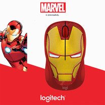 LOGITECH WIRELESS MOUSE M238 MARVEL COLLECTION (IRON MAN)