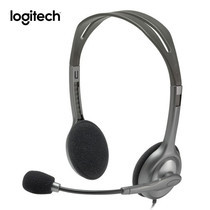Logitech หูฟัง Stereo Headset H111 (Single Pin)