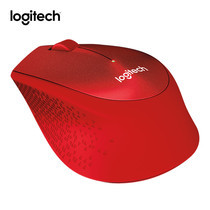 Logitech Silent Plus Wireless Mouse M331 - Red