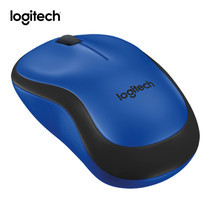 Logitech Silent Wireless Mouse M221 - Blue